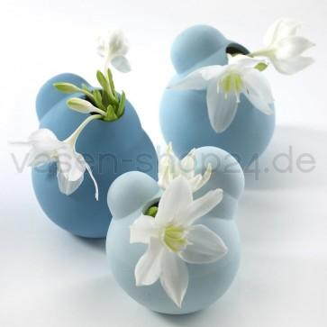 Serax_Design_Vasen_3-er_Set_Life_is_a_bubble_Trendfarbe_blau