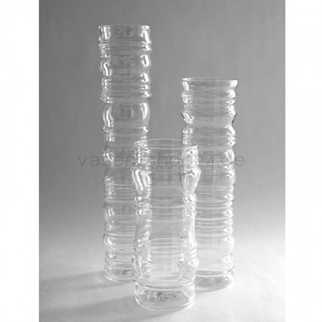 Glasvase zylinder 60 cm