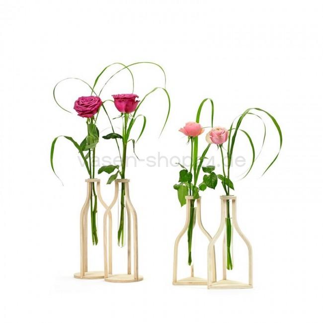 serax vasen fliesen 2er set aus holz und glas. Black Bedroom Furniture Sets. Home Design Ideas